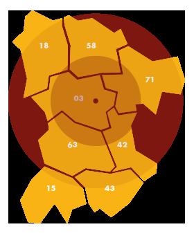 Travaux publics Allier : à Vichy et Moulins et partout en Auvergne